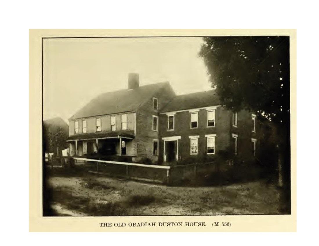 Obadiah Duston place - Salem NH