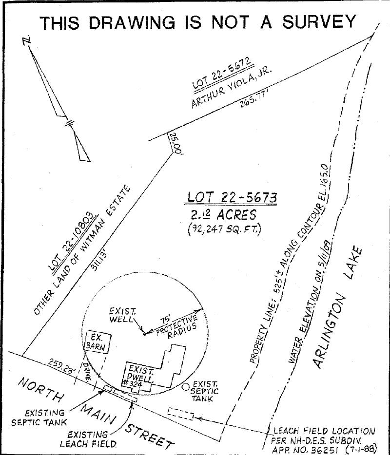 Plot Plan  - Site Assessment 2009