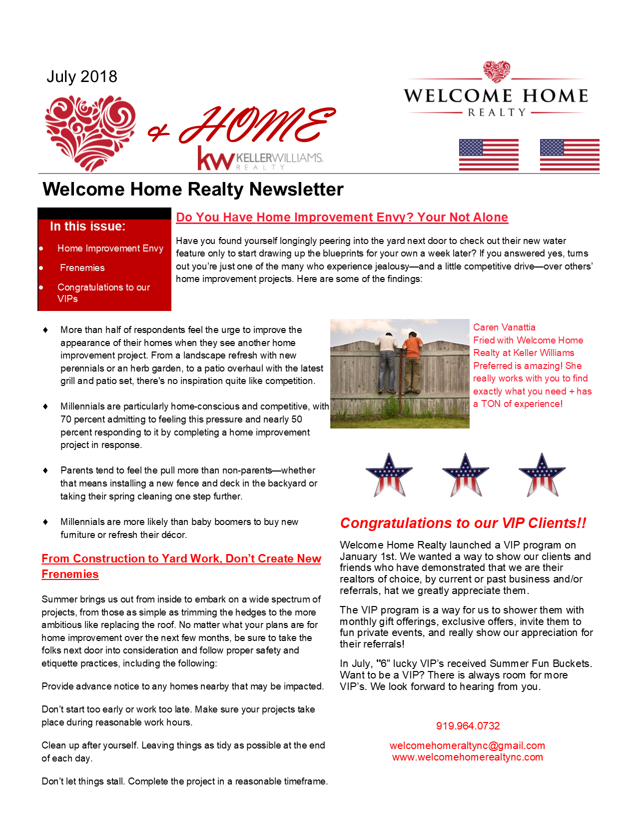 Heart & Home July 2018