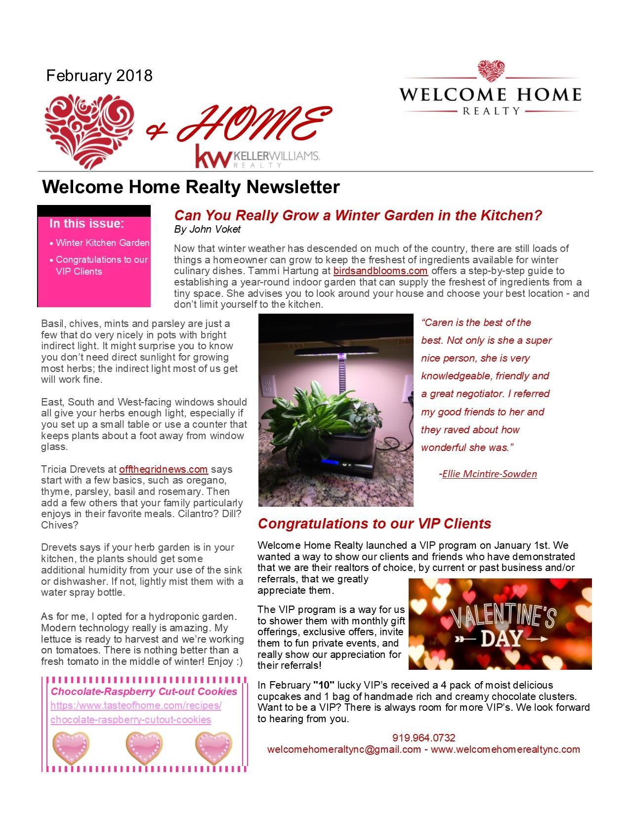 Heart & Home February 2018