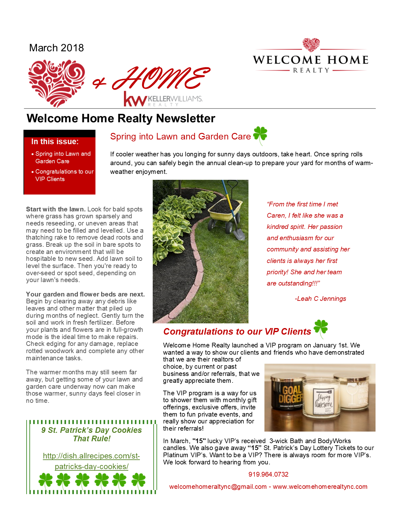 Heart & Home March 2018