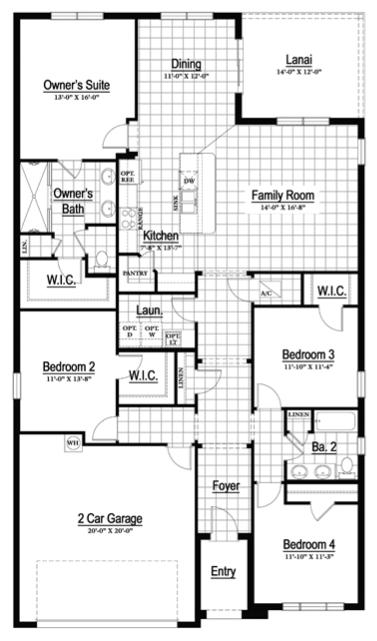 Lakeland Ramone floorplan available Focus Realty Group KW Lakeland 12-04-17