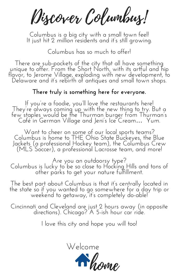 Discover Columbus!