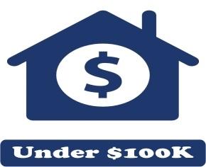 Homes For Sale Under 100K