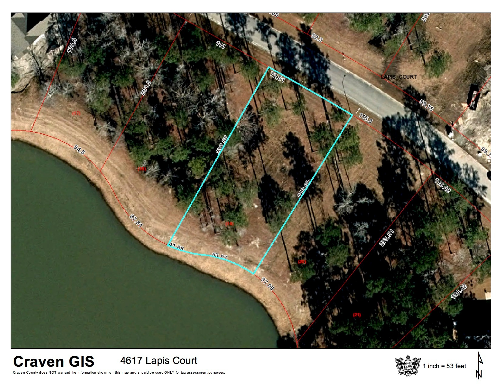 02. 4617 Lapis Court - GIS Photo