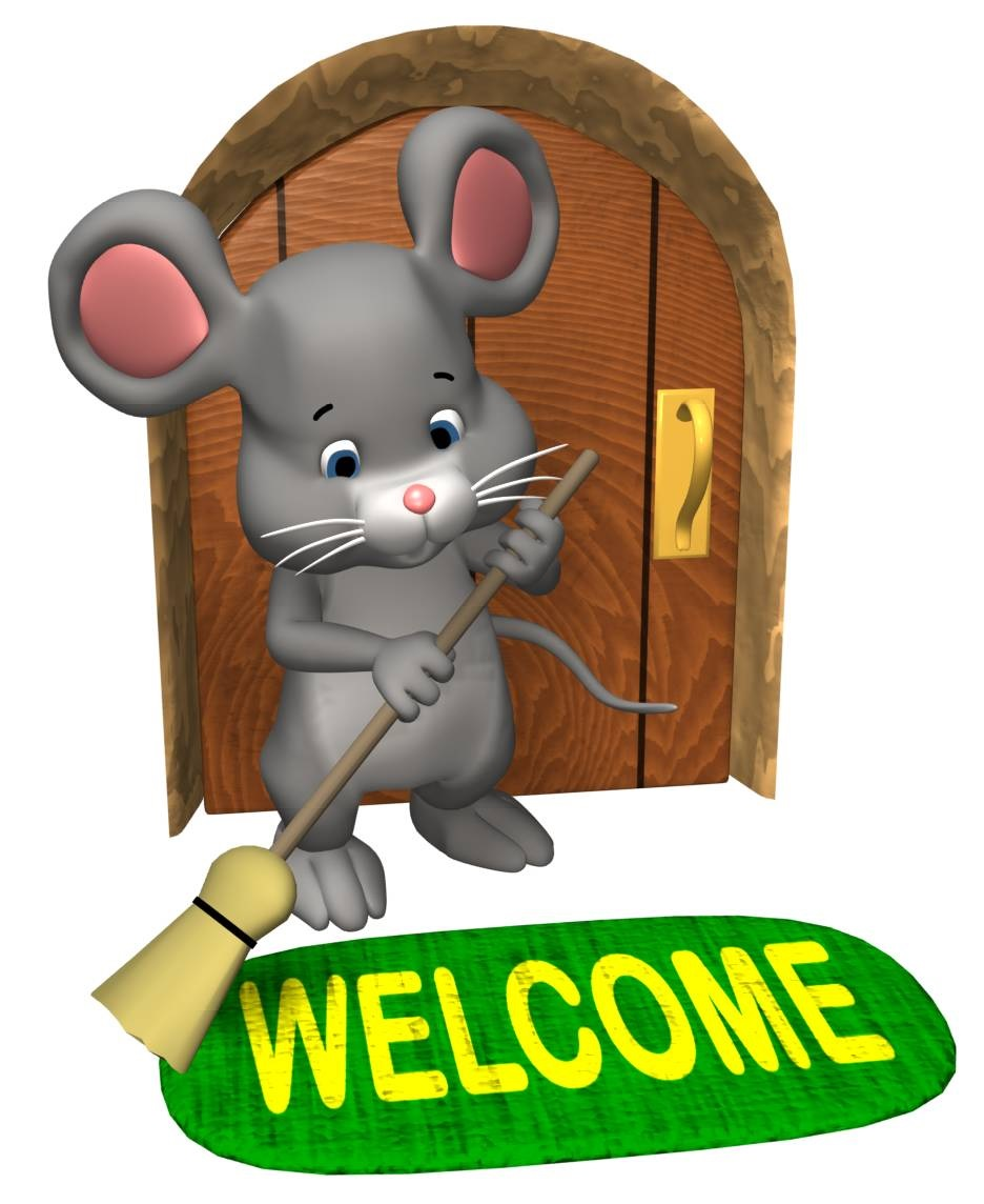 Welcome mouse