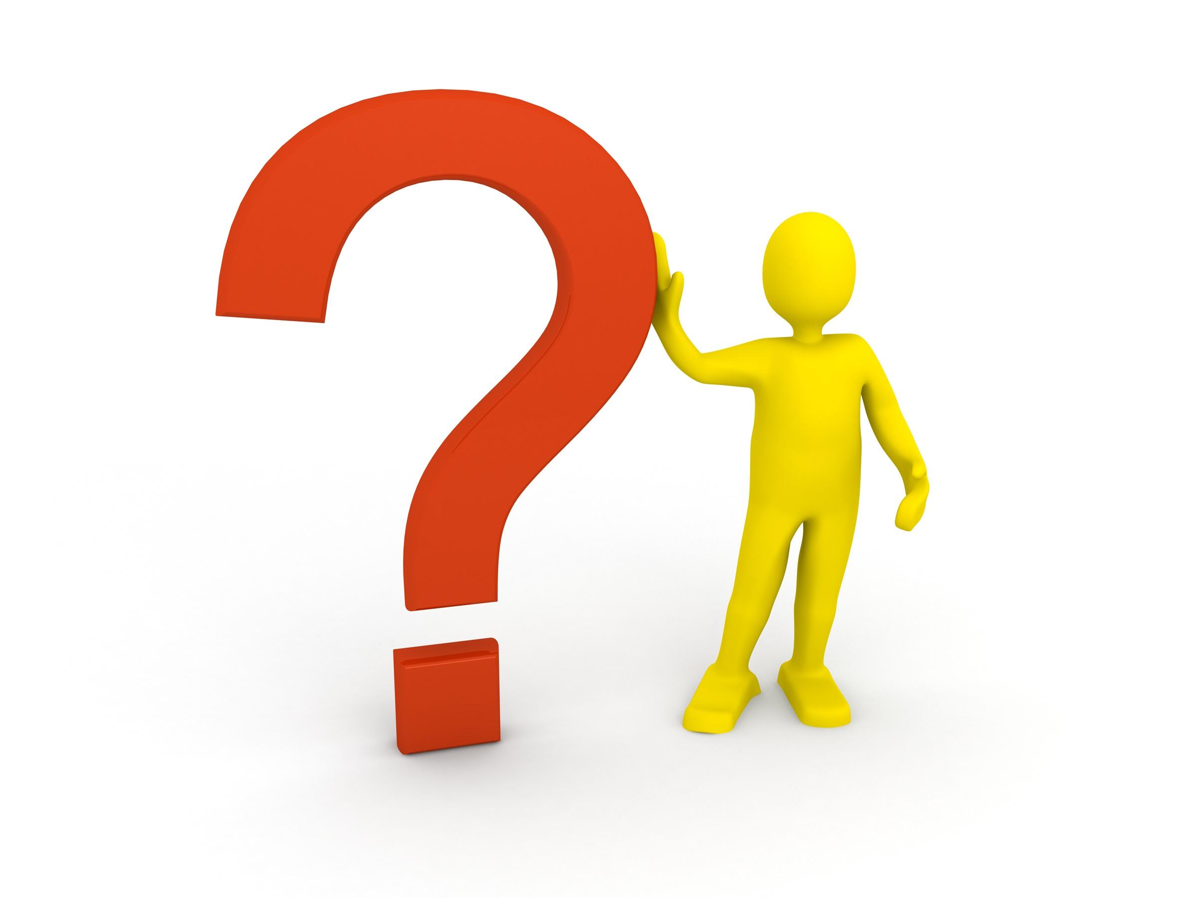 Man q:question mark