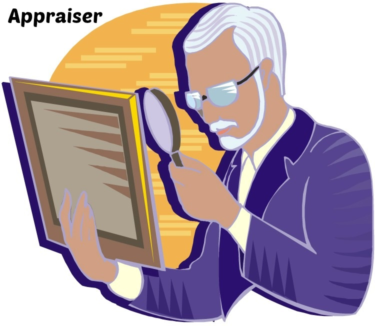 Appraiser labeled