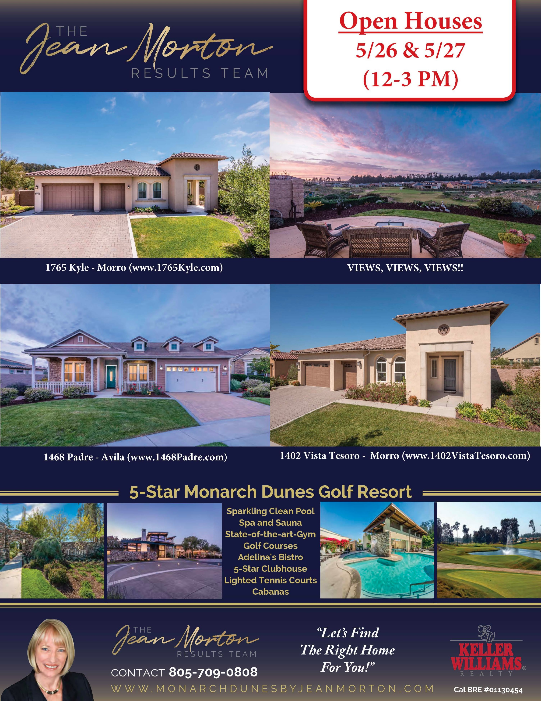 Open Houses 5-26-27