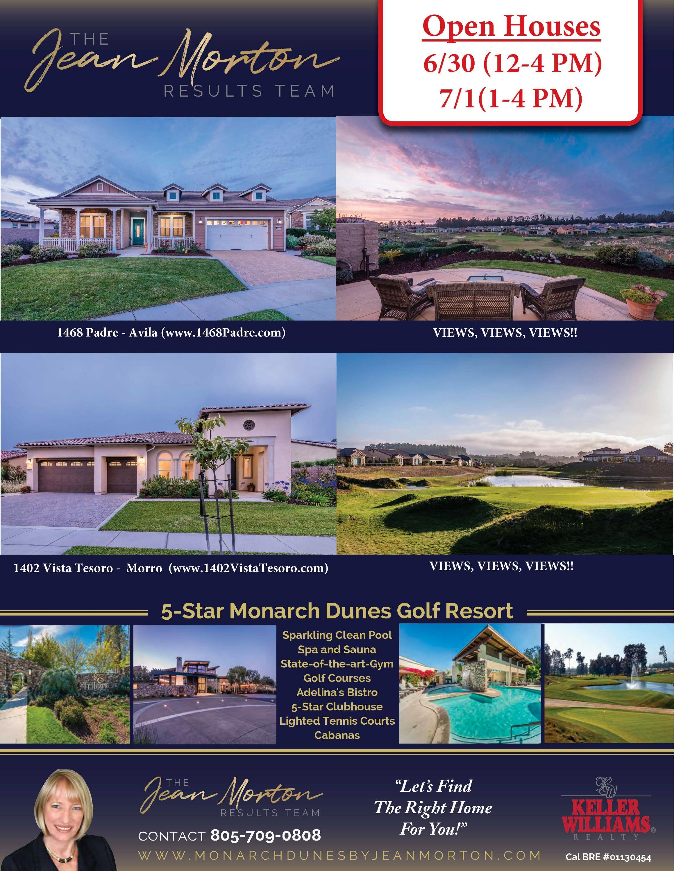 Open Houses 6-30-18 - 7-1-18