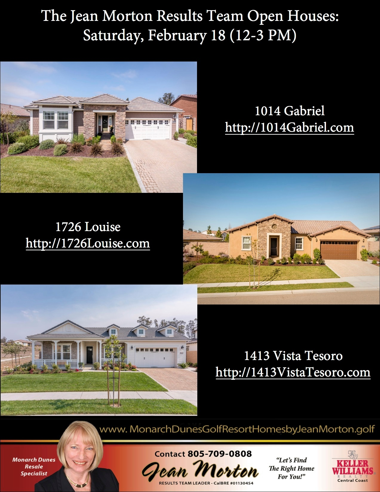 Open Houses 2-18-17 Picture
