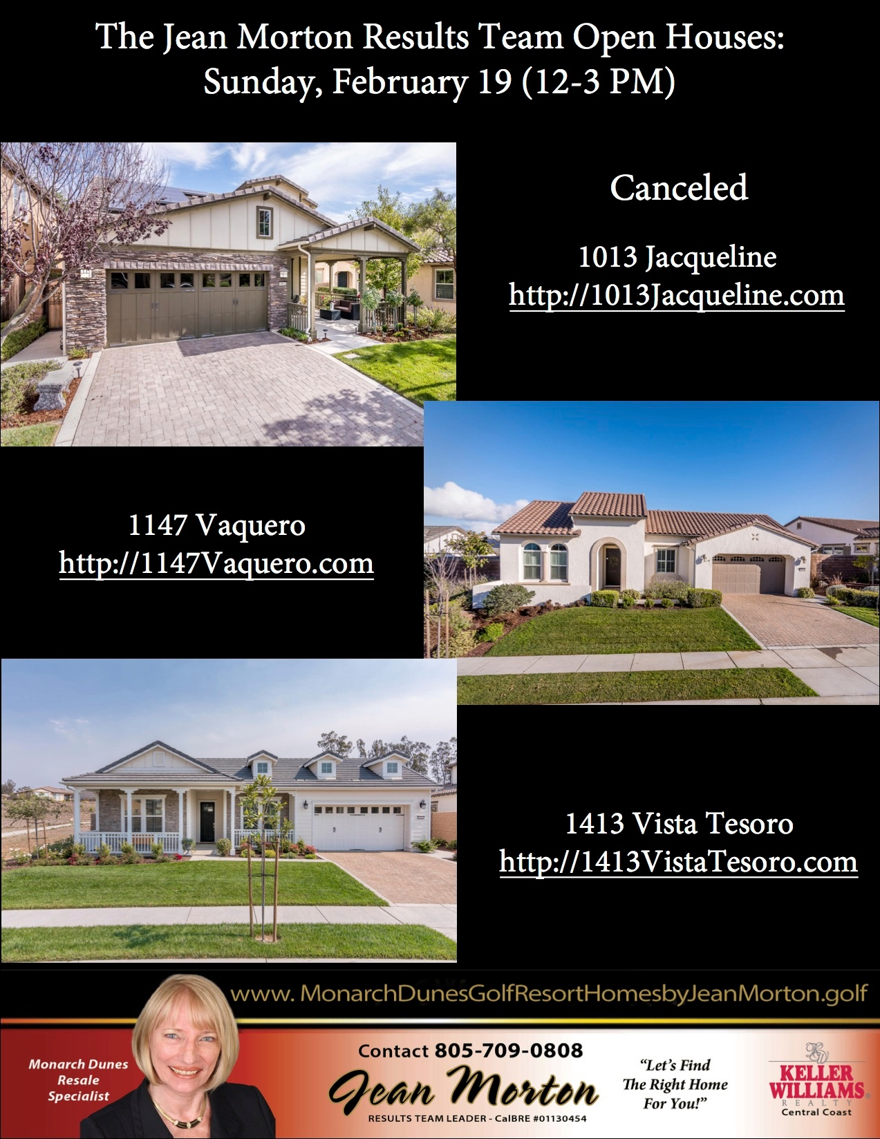 Open Houses 2-19-17 Picture