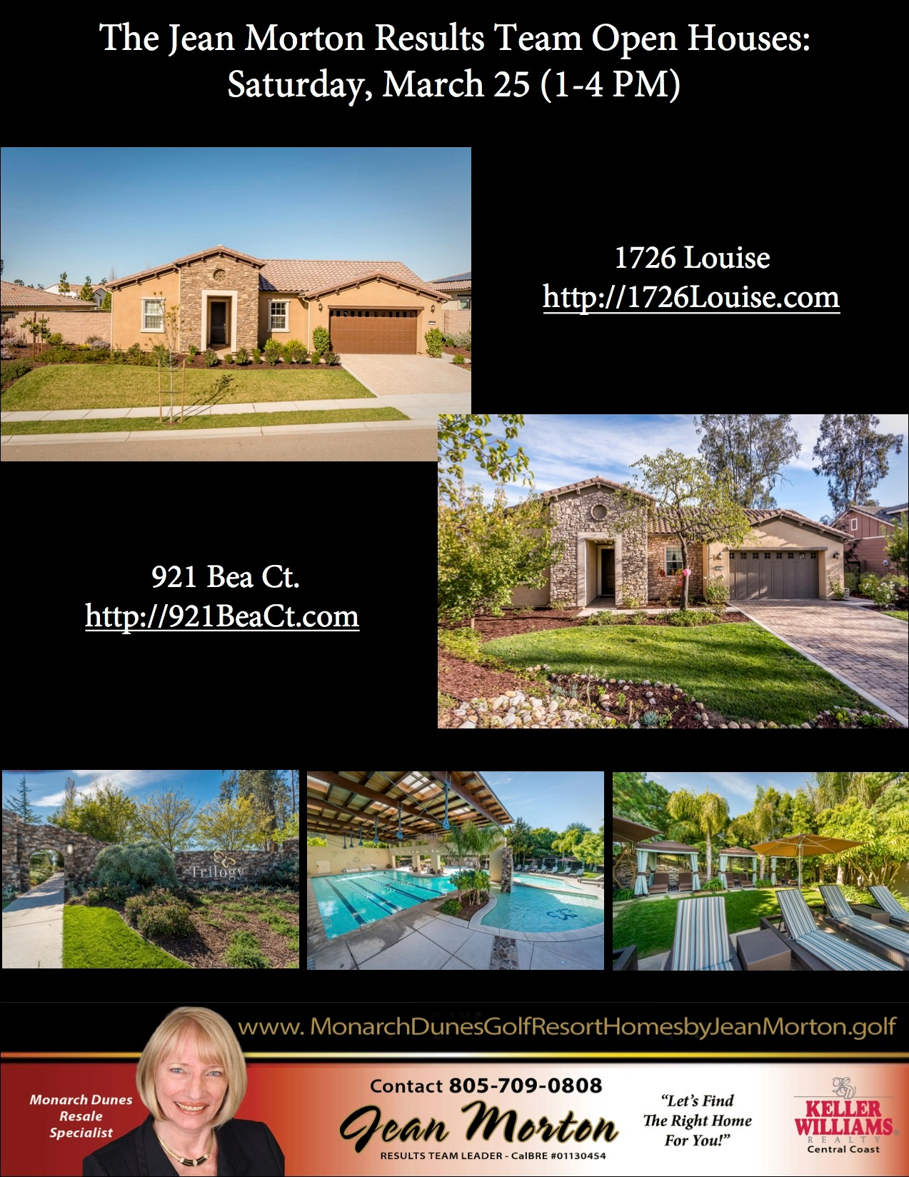 Open Houses March 25