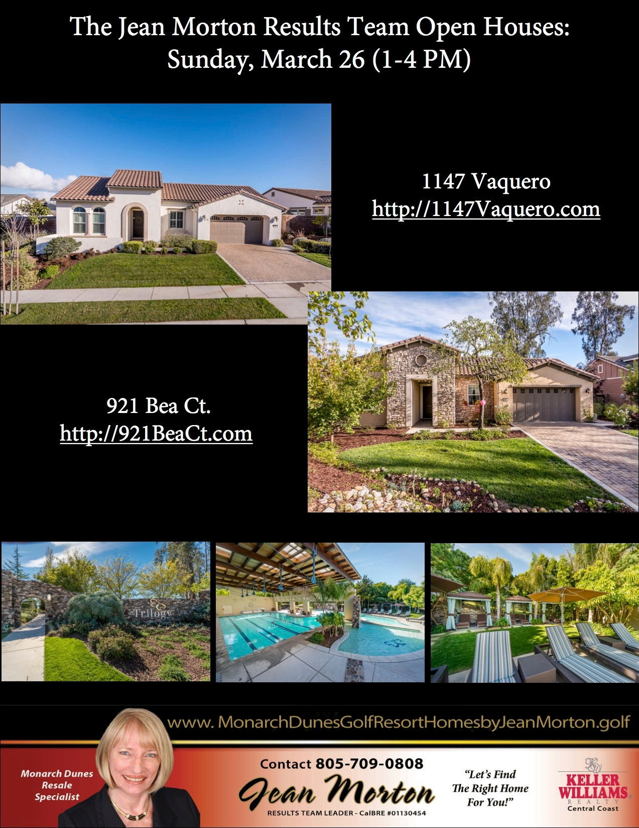Open Houses March 26