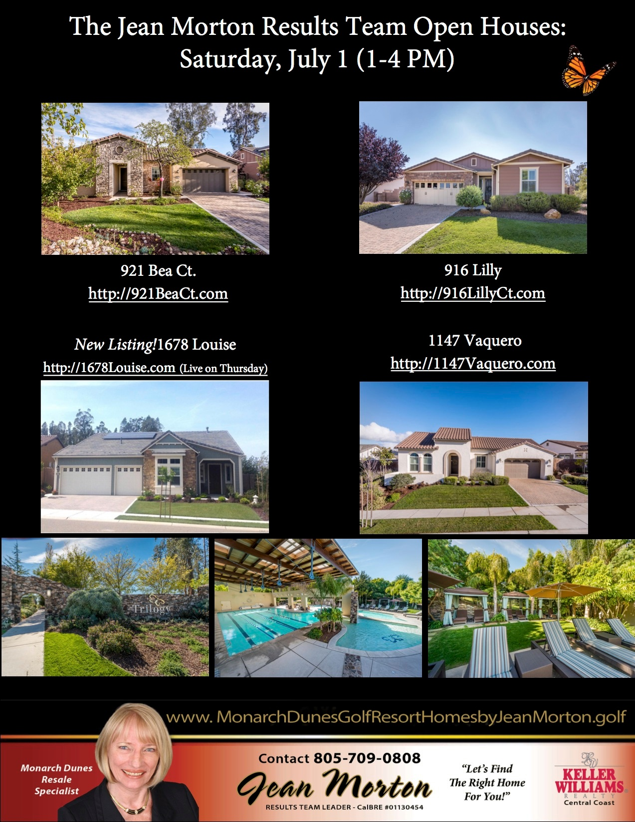 Open Houses July 1
