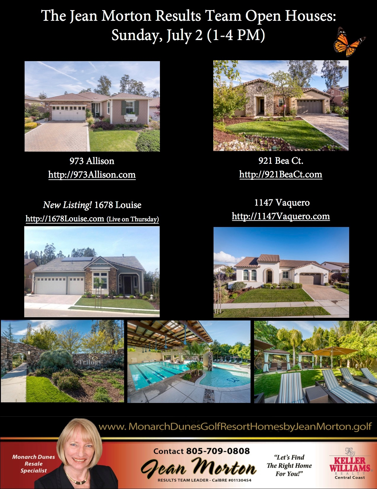 Open Houses July 2