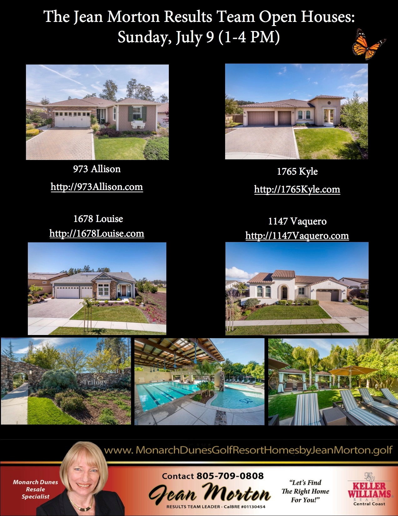 Open Houses July 9