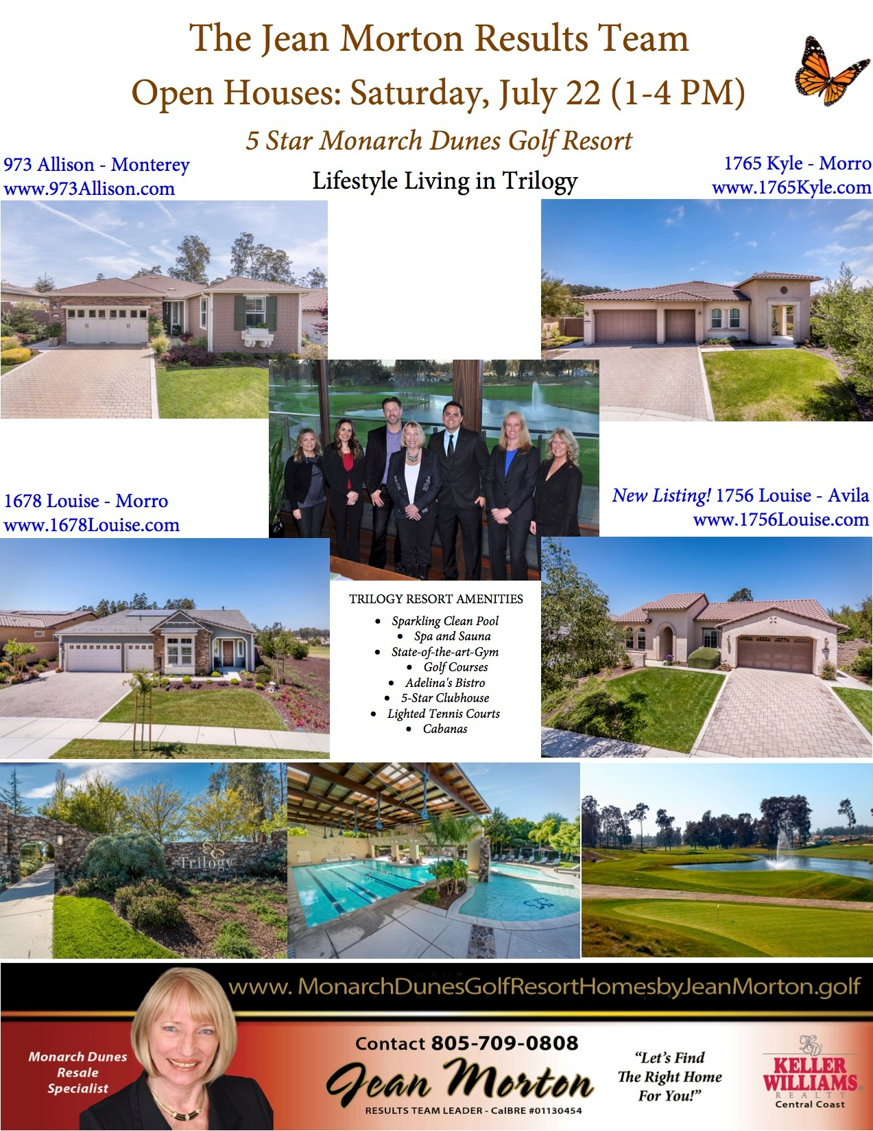 Open Houses July 22