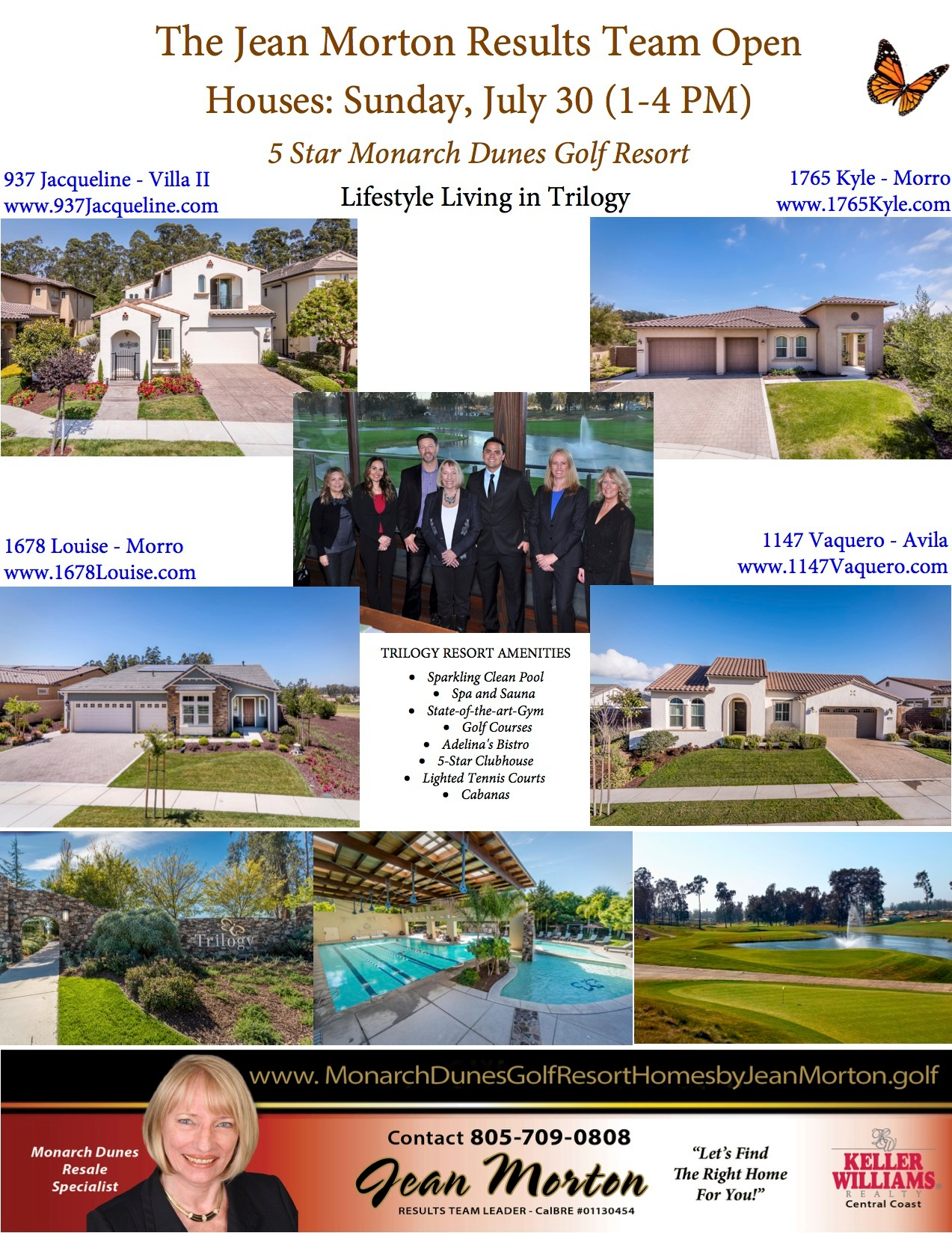 Open Houses July 30