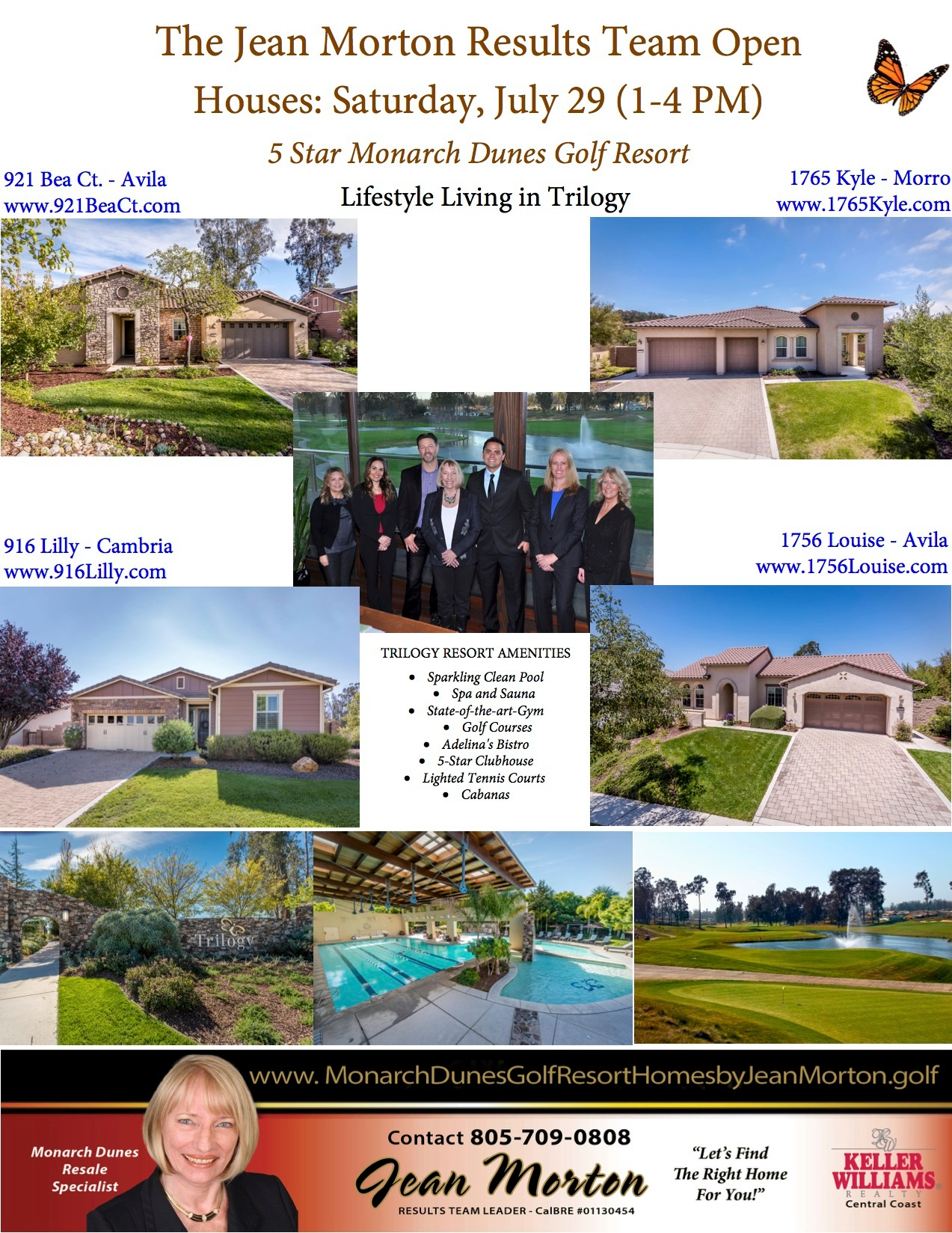 Open Houses July 29