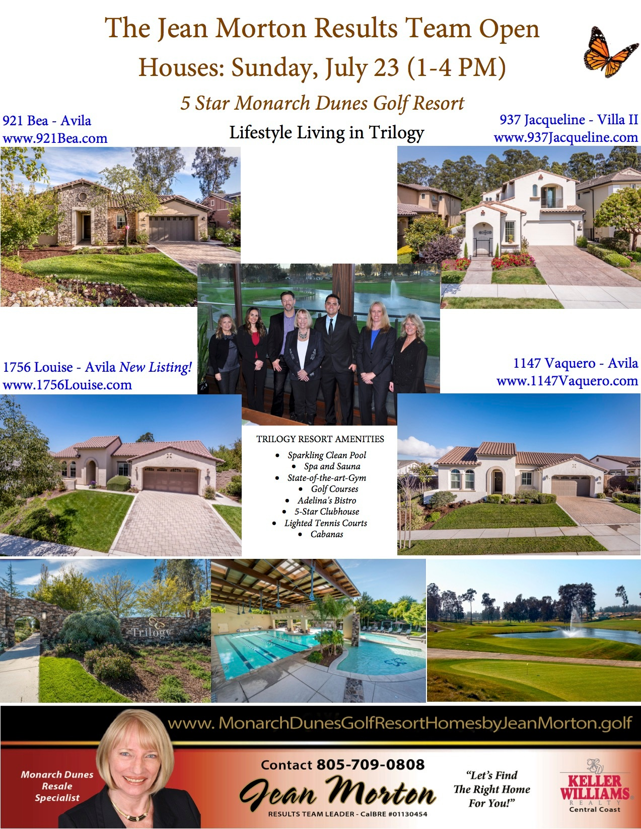 Open Houses July 23