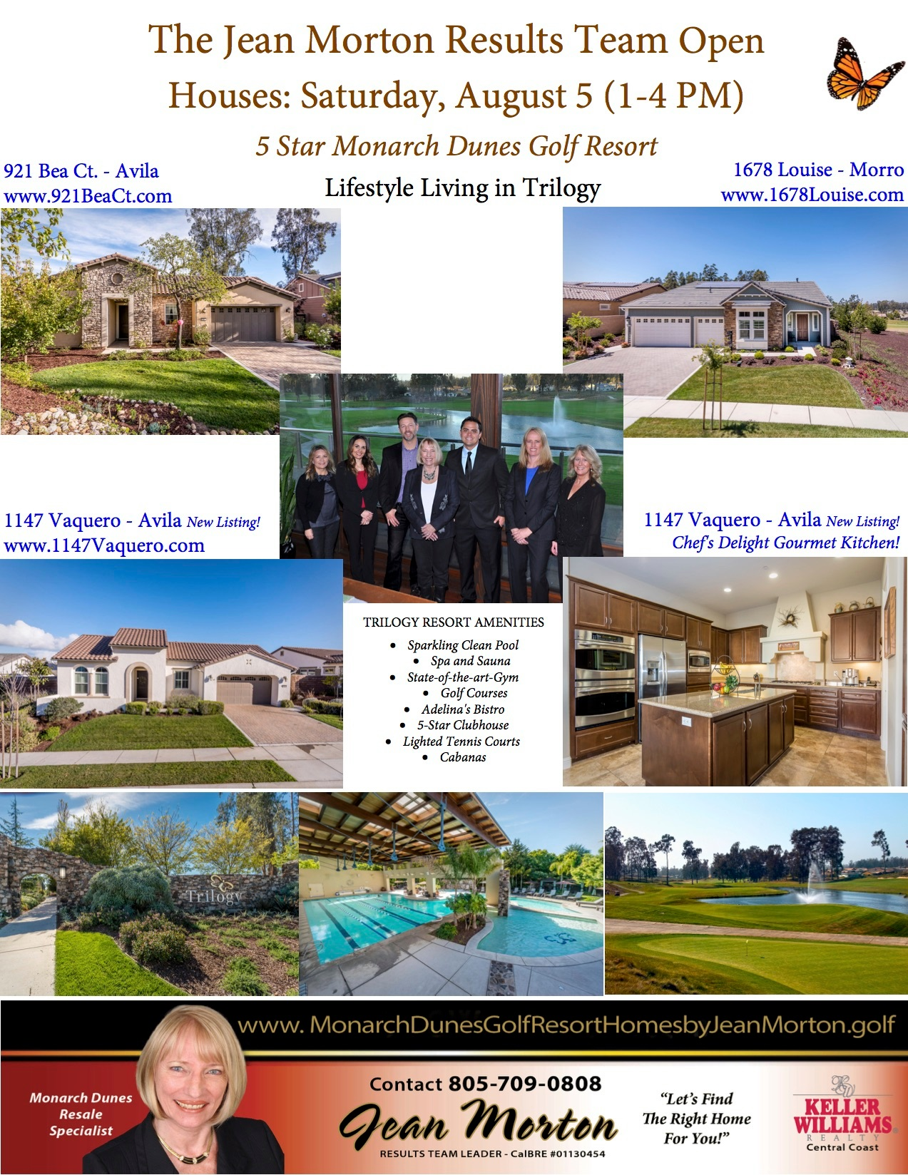 Open Houses August 5