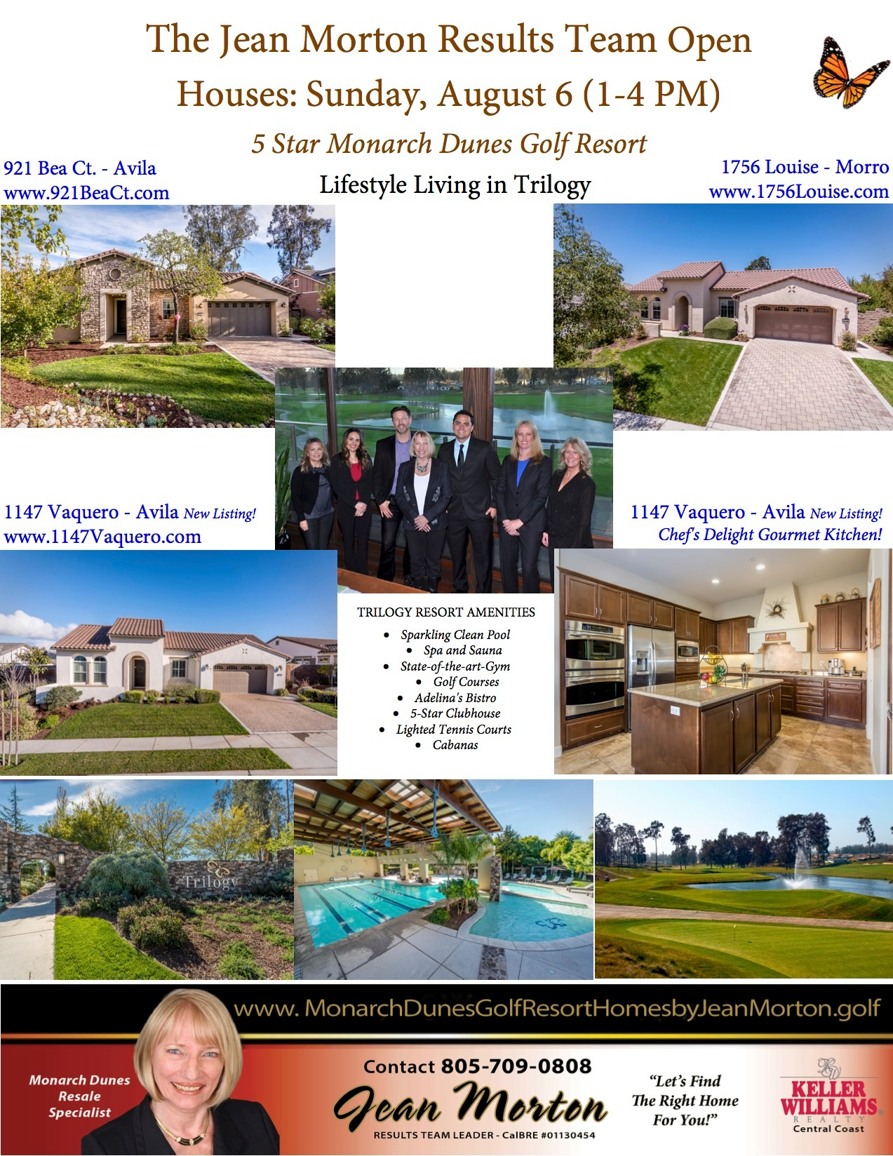 Open Houses August 6