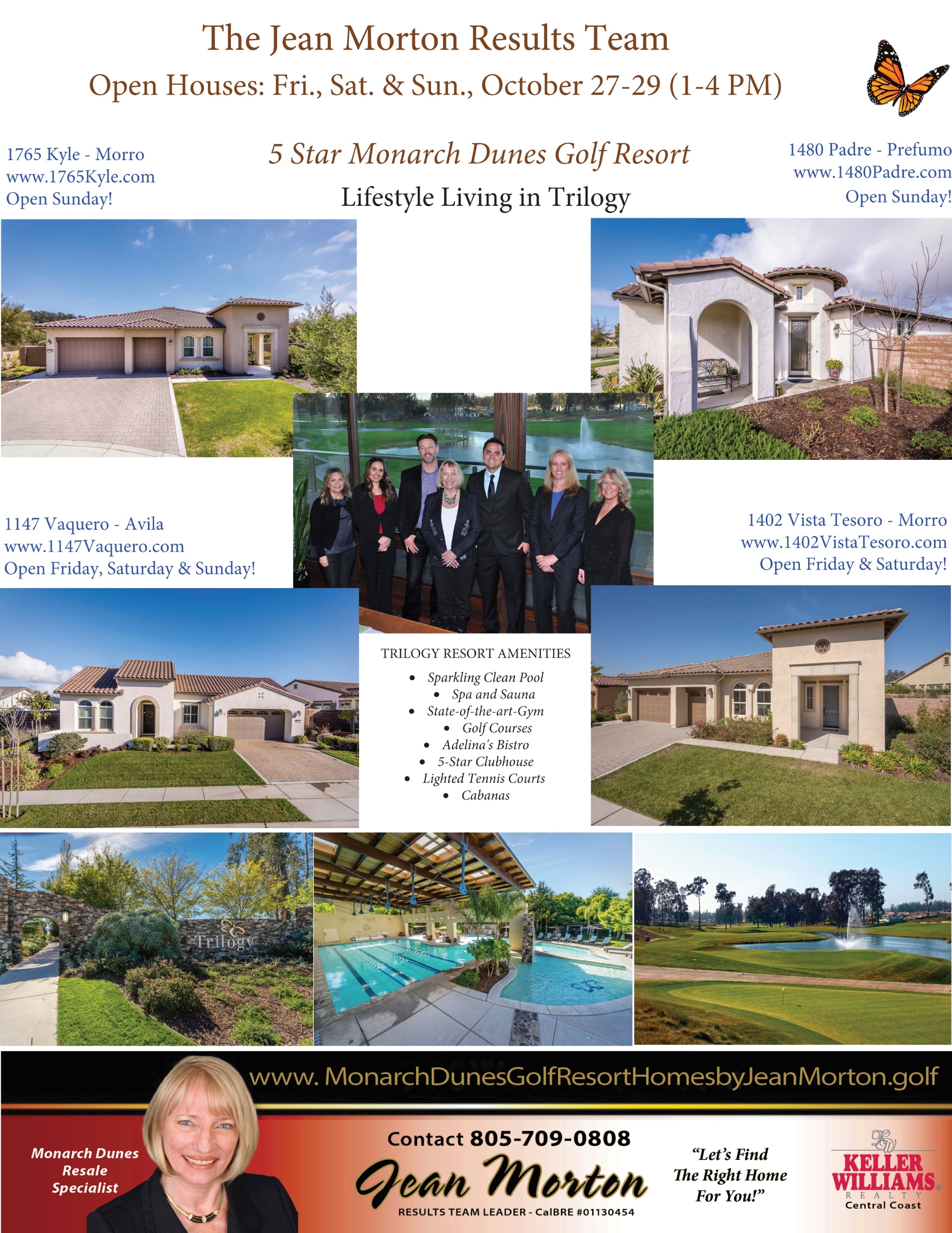 Open Houses Oct 27-28-29