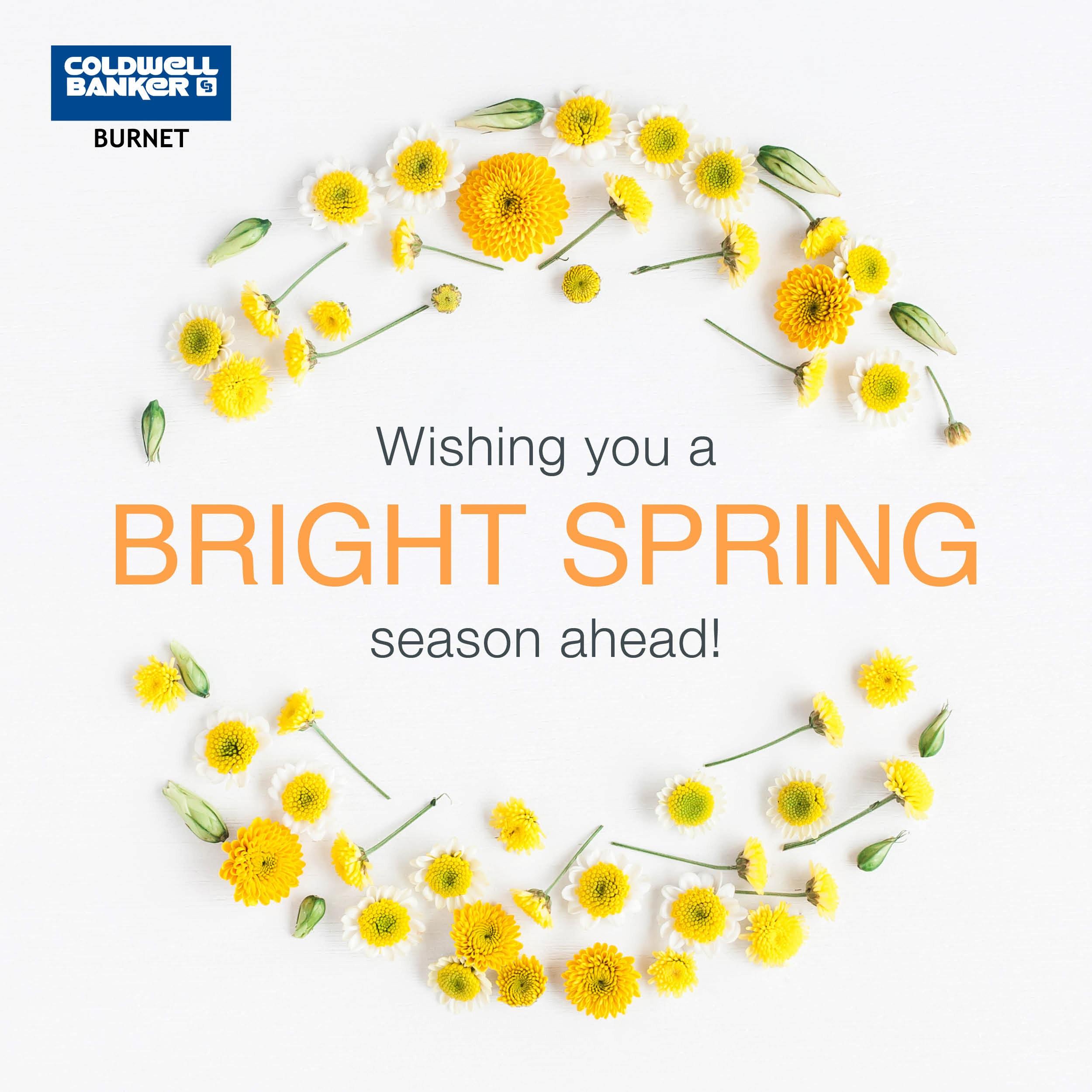 Wishing you a bright spring season ahead