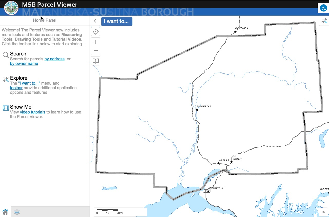 Great Tool Mat Su Borough Parcel Viewer