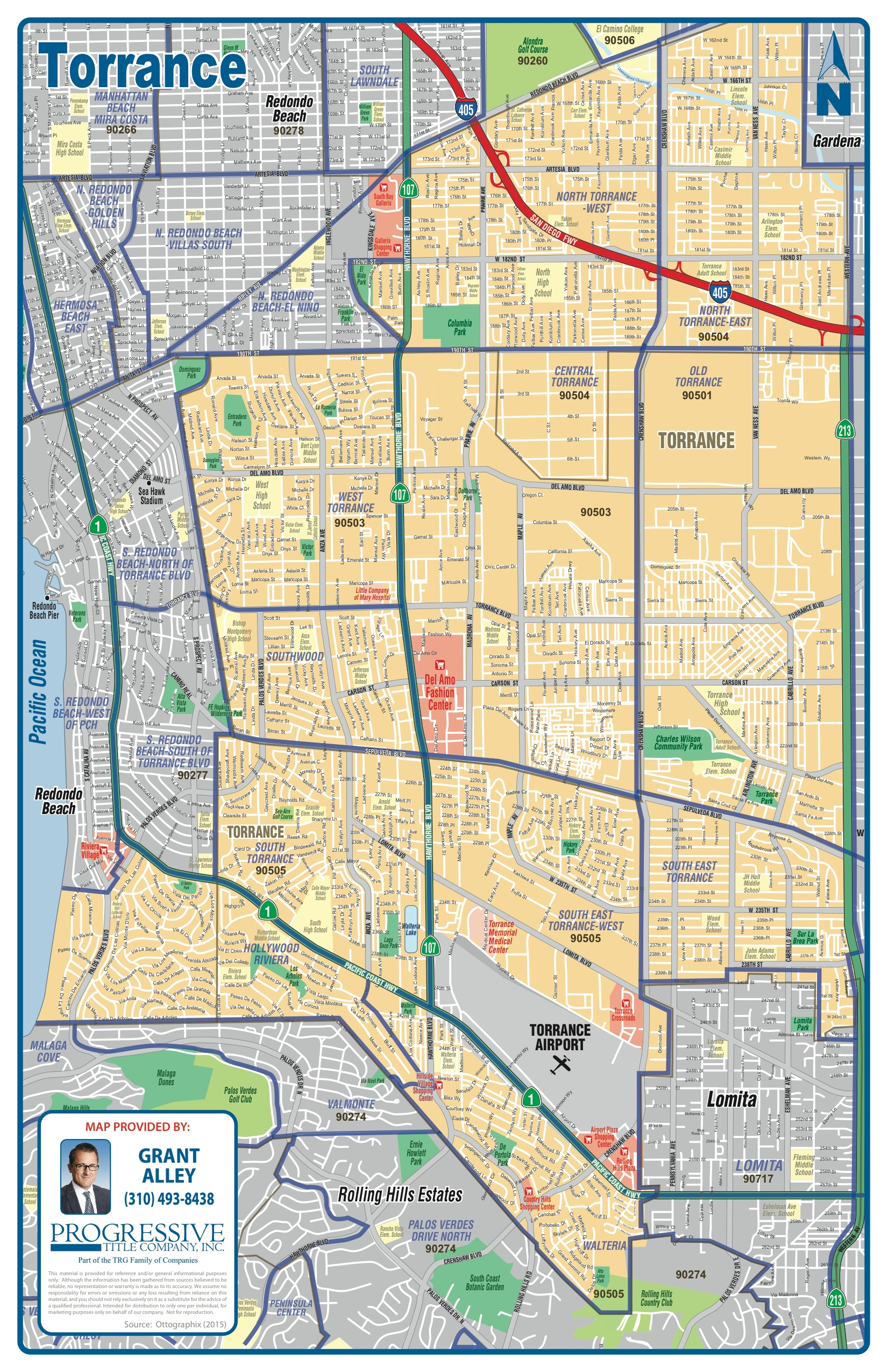 torrance map. real estate information for torrance ca  coldwell banker