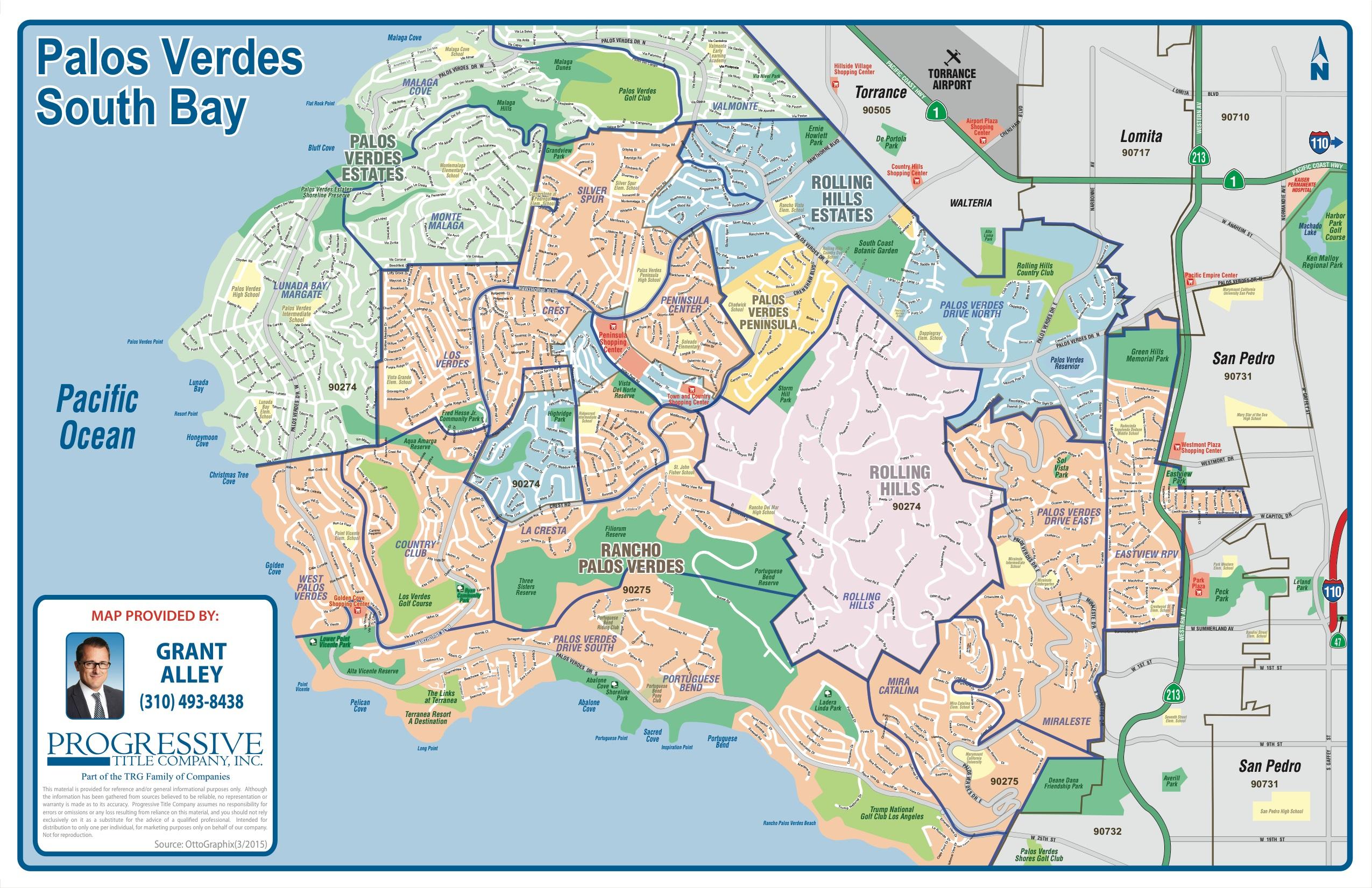 Palos Verdes Peninsula Map
