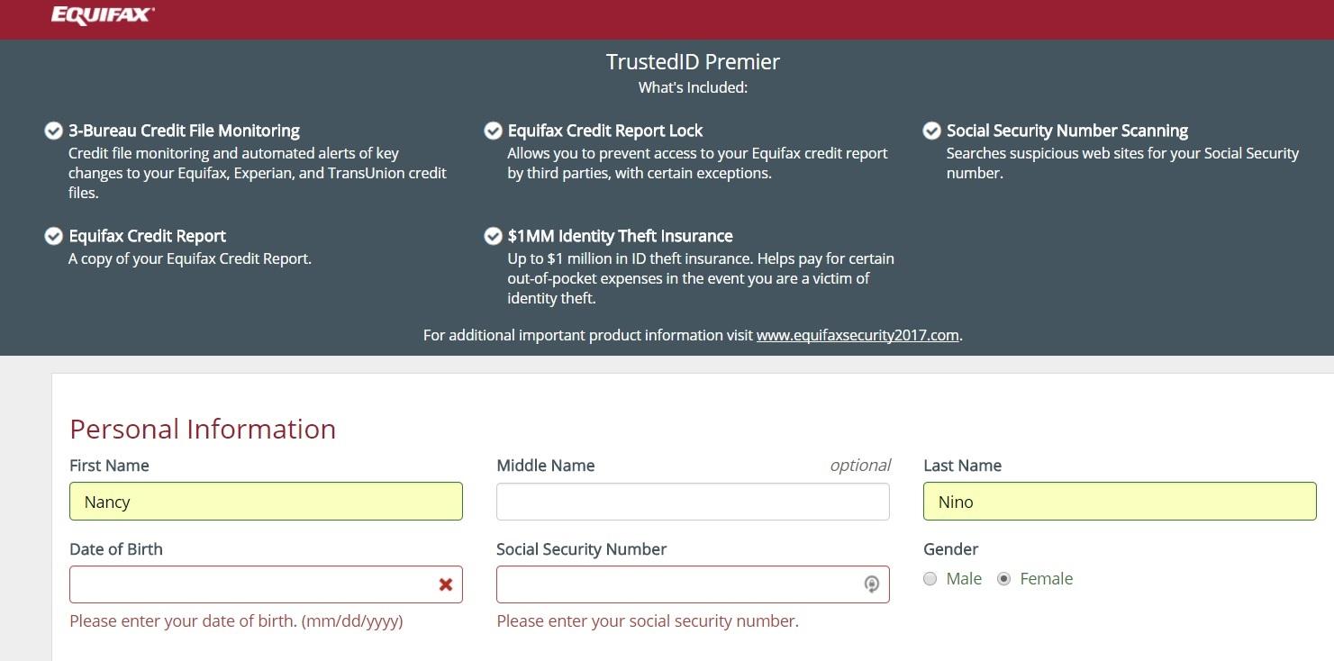Equifax-TrustedID Premier