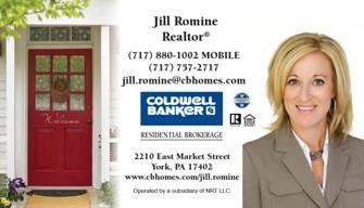 Jill business card