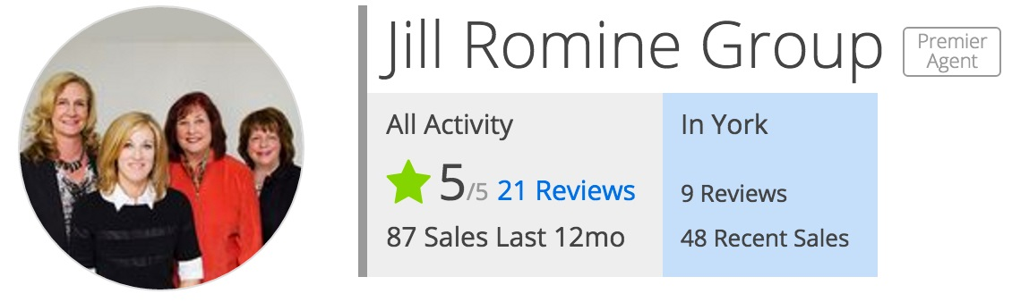 Zillow reviews for The Jill Romine Group