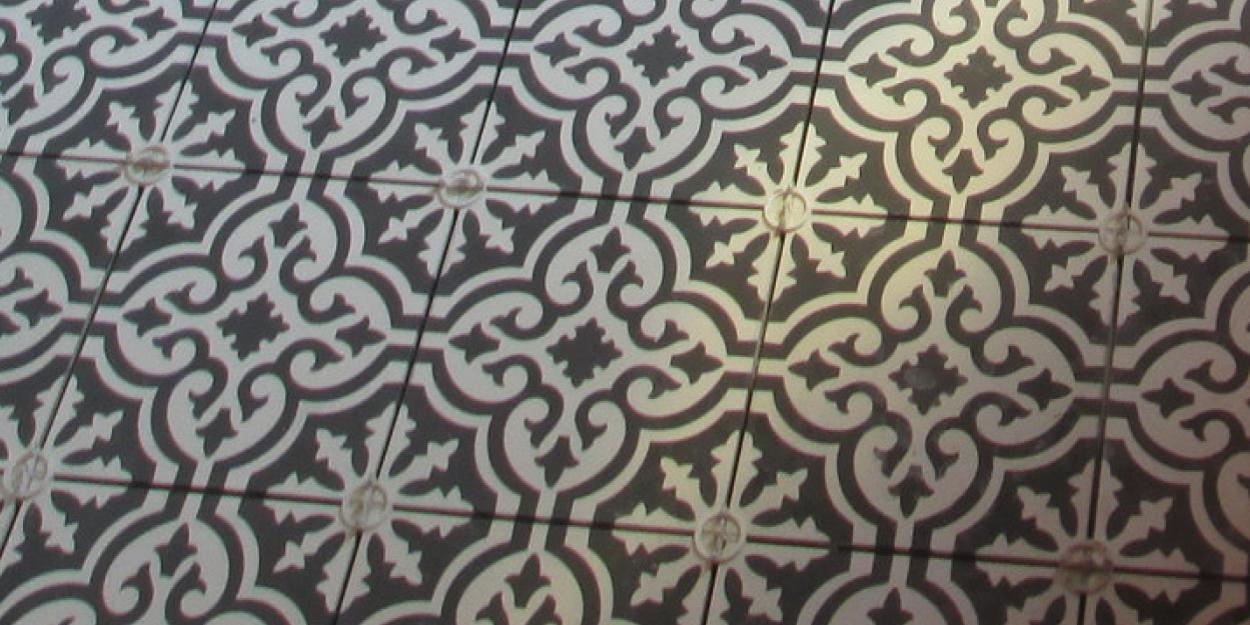 Glassmeyer bathroom tile