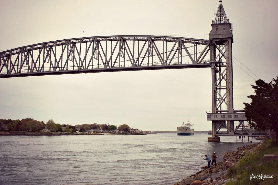 Fisherman at Bridge