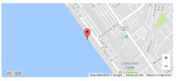 Oceanside Blvd Map