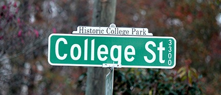 COLLEGE PARK SIGN-1