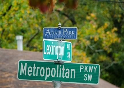 ADAIR PARK SIGN-1