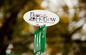 FROG HOLLOW SIGN-1