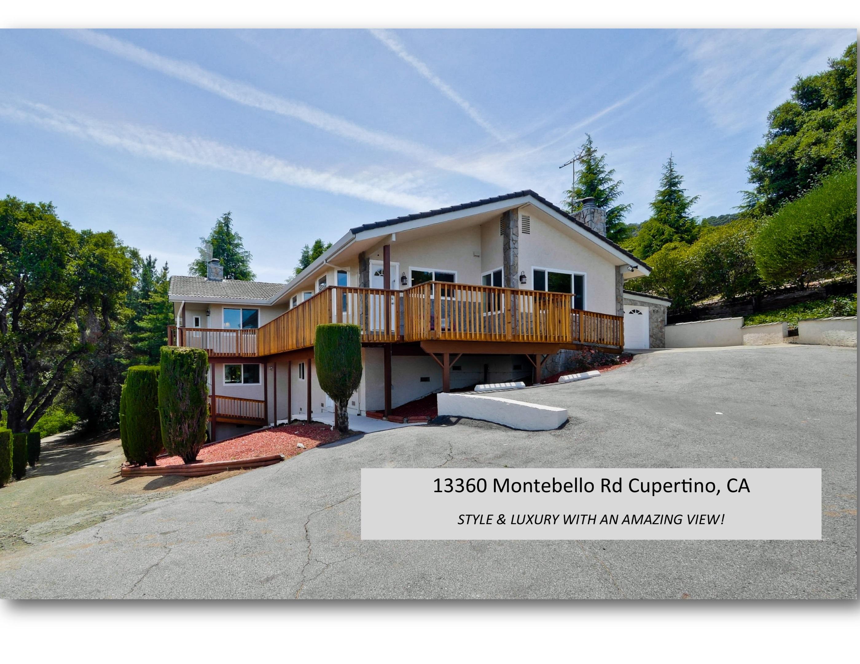 13360 Montebello Rd Cupertino, CA