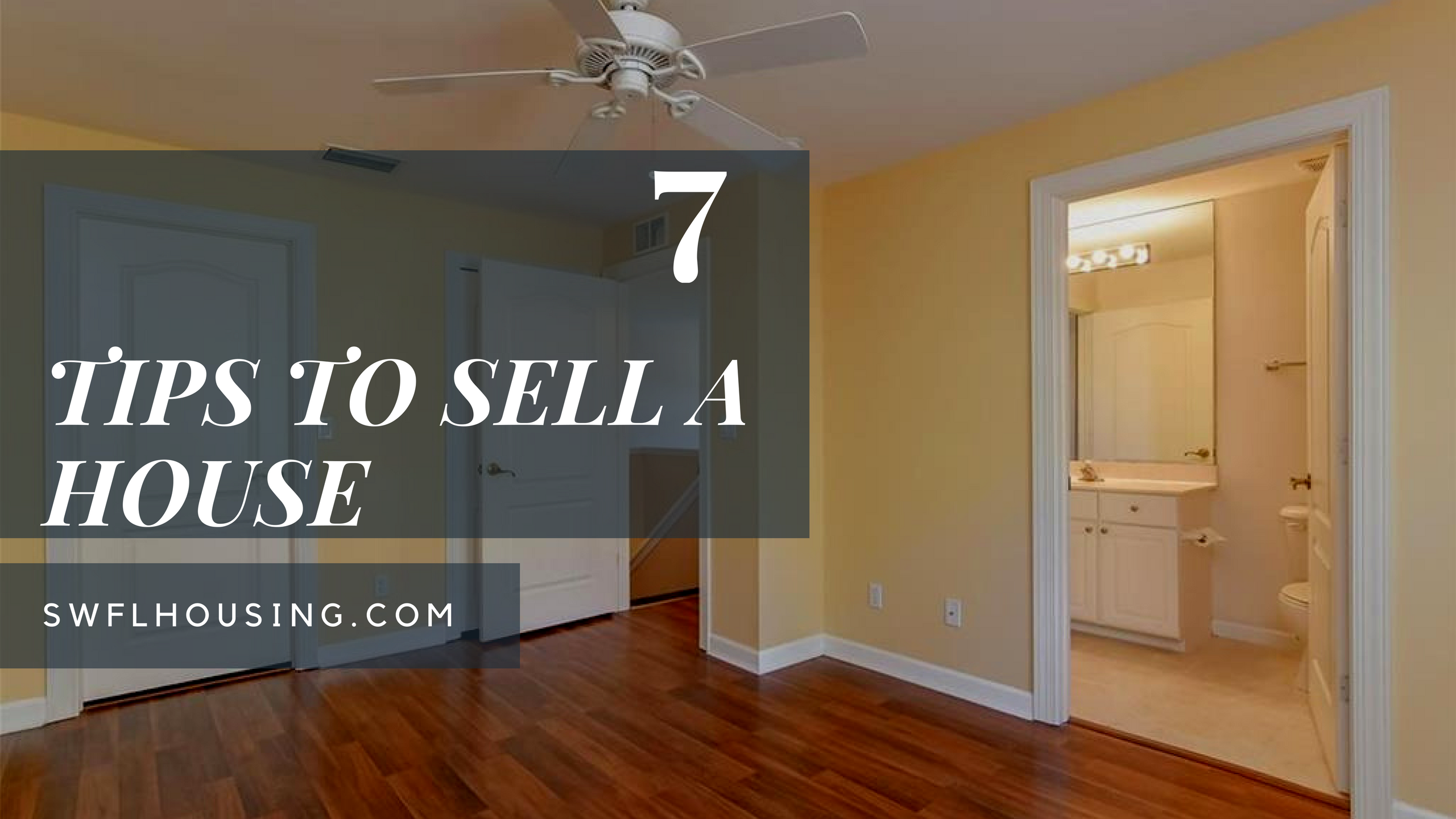 a House7 tips to selling