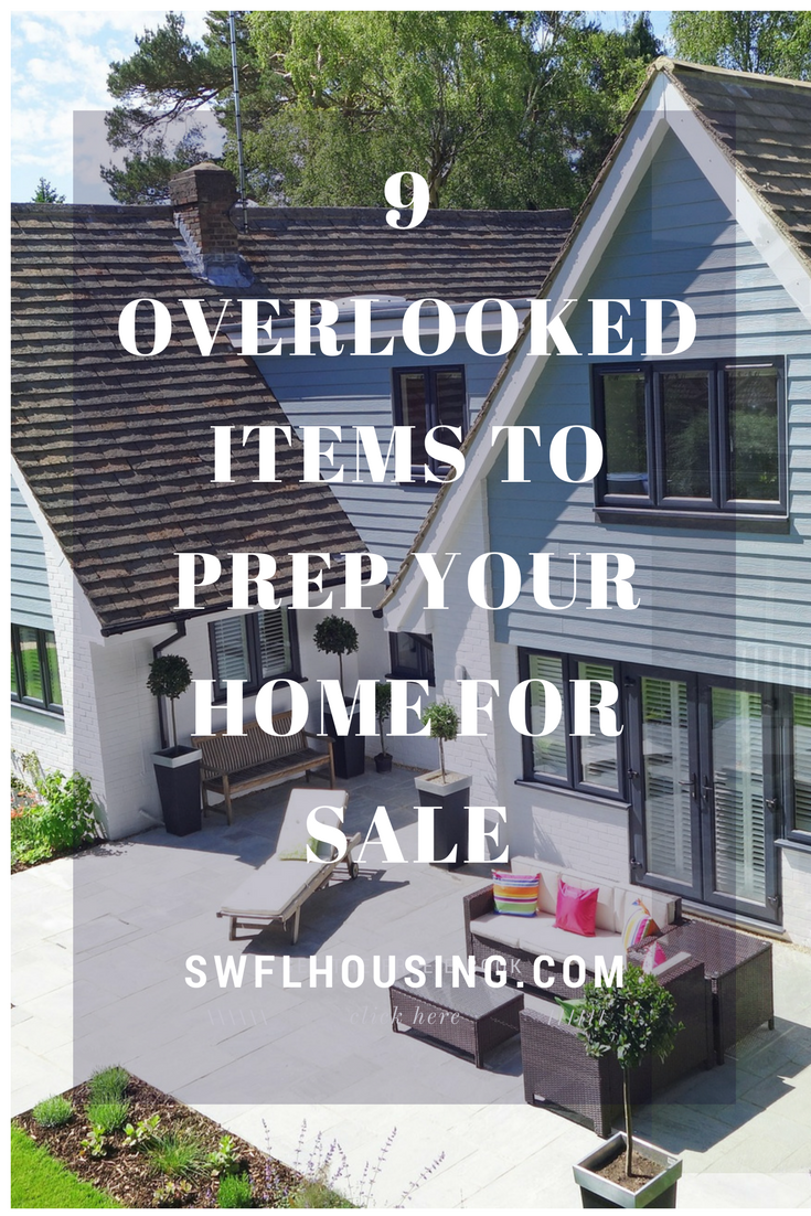 9 Overlooked Items to Prep Your Home for Sale. homes for sale in bonita springs selling a house in b