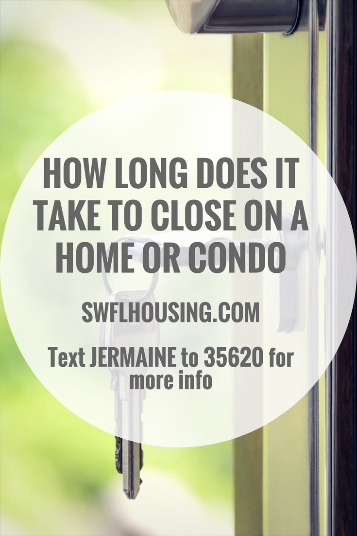 how long does it take to close on a home or condo bonita springs homes for sale in bonita springs re