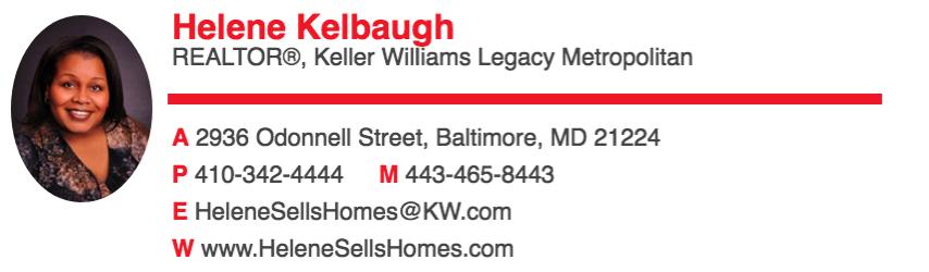 Helene Kelbaugh Keller Williams Legacy Metropolitan