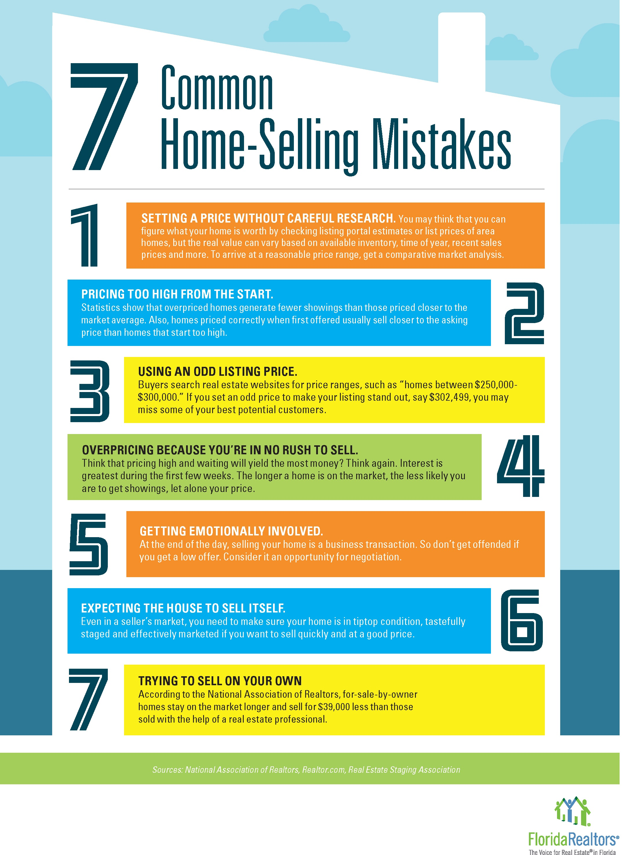 7 Common Home Selling Mistakes