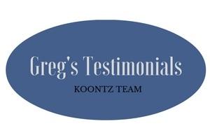 Greg's Testimonials