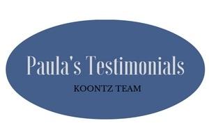 Paula's Testimonials
