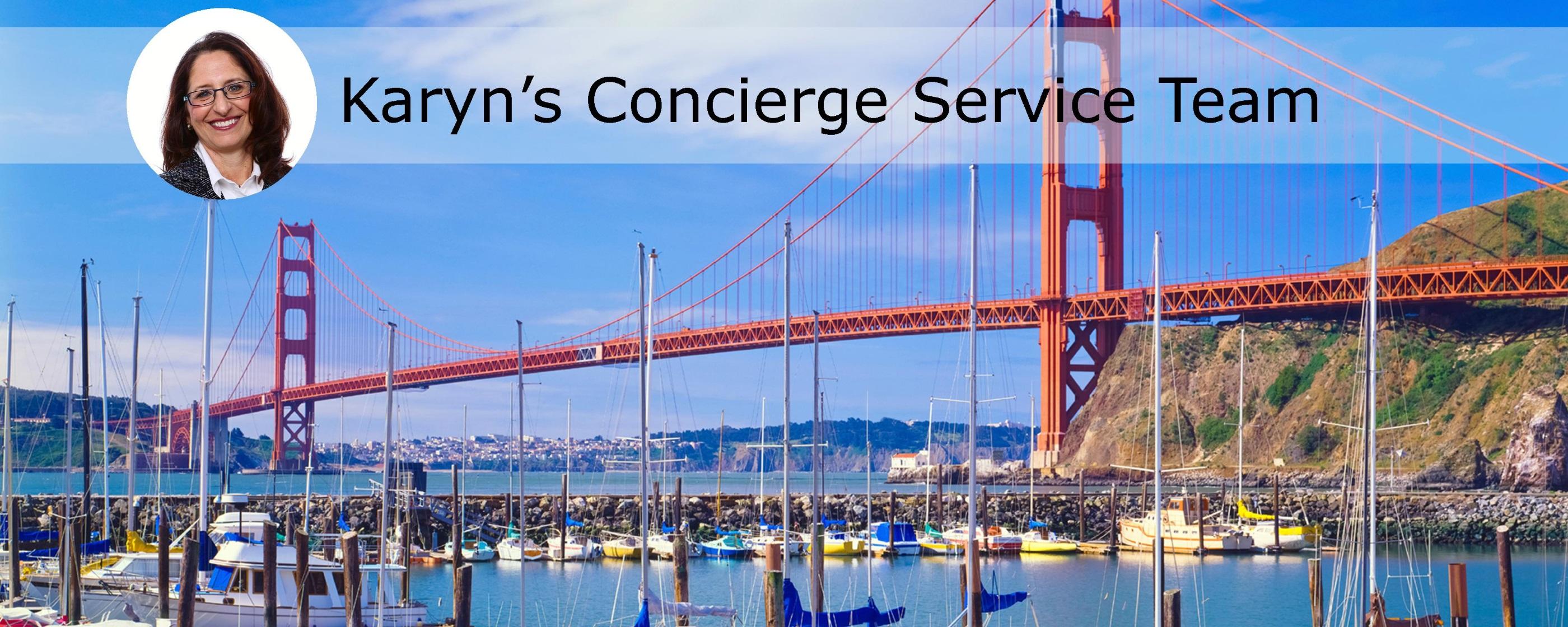 Karyn's Concierge Service Team